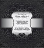 Vintage background for invitations Stock Photos