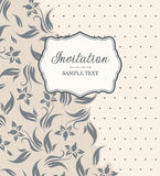Vintage background for invitations Stock Photo