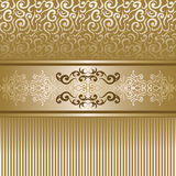 Vintage background with lace decoration Royalty Free Stock Images