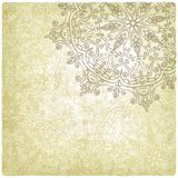 Vintage background with lace pattern Royalty Free Stock Image