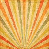 Vintage background Multi color rising sun or sun ray Stock Photography