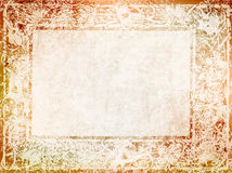 Vintage background with Nouveau frame Stock Photos