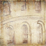 Vintage background of the old building texture for any of your d Stock Images