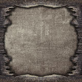 Vintage background from the old delaminated plywood Royalty Free Stock Photo