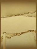 Vintage background with old paper Royalty Free Stock Images