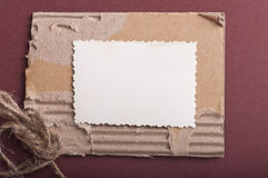 Vintage background with old paper Stock Photos