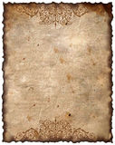 Vintage background - old paper. Victorian style, design stock photo