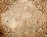 Vintage background - old paper Royalty Free Stock Photography