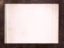 Vintage background with old paper sheet Royalty Free Stock Photos