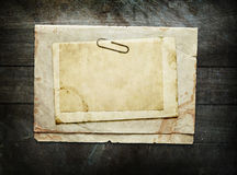 Vintage background with old paper sheet Royalty Free Stock Images