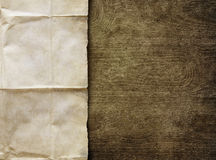 Vintage background with old paper sheet Stock Image