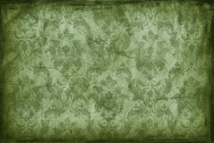 Vintage background from old wallpaper Stock Photography