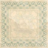 Vintage background with ornament. Royalty Free Stock Photo