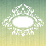 Vintage background with ornamental frame Royalty Free Stock Photo