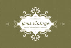 Vintage background with ornaments Royalty Free Stock Photo