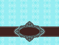 Vintage background with ornaments Stock Image