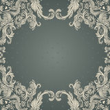 Vintage background ornate baroque background Stock Images