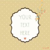Vintage background in pastel colors Stock Images