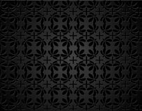 Vintage background pattern, Ethnic seamless vector texture Stock Images
