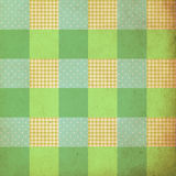 Vintage background, pattern, patchwork style, retro Stock Photography
