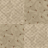 Vintage pattern with plums Royalty Free Stock Photo