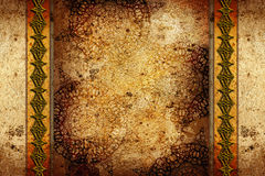Vintage background with patterns Royalty Free Stock Photography