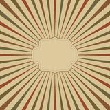 vintage background with place for name vector royalty free illustration