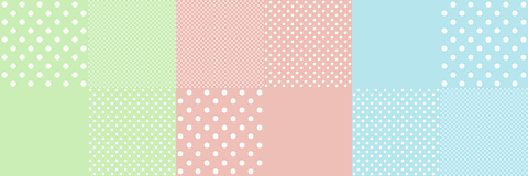 Vintage background from polka dot Royalty Free Stock Image