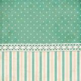 Vintage Background. Polka Dot And Strips Wallpaper Stock Images