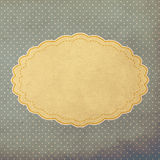 Vintage background, polka dot style Stock Photos