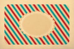 Vintage background, polka dot style Stock Photography