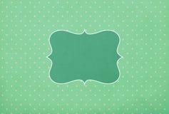 Vintage background, polka dot style Stock Image