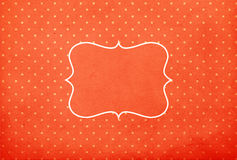 Vintage background, polka dot style Royalty Free Stock Photos