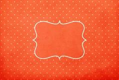 Vintage background, polka dot style Royalty Free Stock Photos