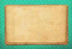 Vintage background, polka dot style Royalty Free Stock Photography