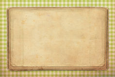 Vintage background, polka dot style Stock Photography