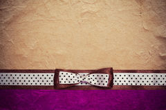 Vintage background with purple paper Stock Images