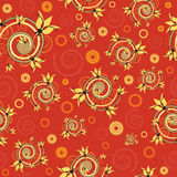 Vintage background in red color Royalty Free Stock Photography