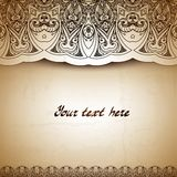 Vintage background. Retro greeting card, Stock Photography