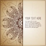 Vintage background. Retro greeting card, Royalty Free Stock Photography