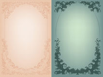 Vintage background  rich baroque decoration Stock Photography
