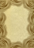 Vintage background with roses. Royalty Free Stock Images