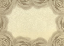 Vintage background with roses. Royalty Free Stock Photos