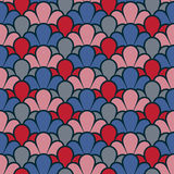 Vintage background with a seamless pattern Royalty Free Stock Photo