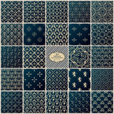 Vintage background. Seamless pattern ornament Royalty Free Stock Photos