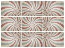 Vintage background. Set of retro pattern a vintage background. for montage your poster Royalty Free Stock Photo