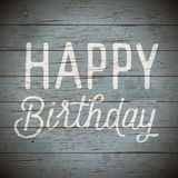 Vintage background with slogan for birthday Royalty Free Stock Image