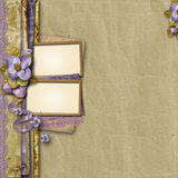 Vintage background with space for text or photo Stock Images