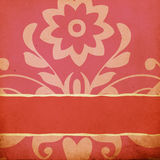 Vintage background with spring flowers Stock Photos