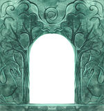 Vintage background with stone carvings Royalty Free Stock Photo
